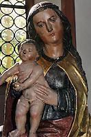 Anna selbtritt (Mainfranken 16.Jh.)  in spätromanischer St. Anna-Kappelle (12.Jh.) in Obernburg am Main, Bayern, Deutschland