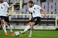 Manuel Locatelli of Italy in action during the friendly football match between Italy and Moldova at Artemio Franchi Stadium in Firenze (Italy), October, 7th 2020. Photo Andrea Staccioli/ Insidefoto