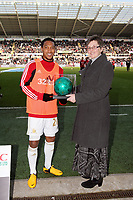 Saturday 2nd March 2013<br /> Pictured: Jonathan de Guzman (L).<br /> Re: Barclays Premier Leaguel, Swansea  v Newcastle at the Liberty Stadium in Swansea.