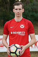 Nils Herdt (RW Walldorf) - Mörfelden-Walldorf 04.08.2020: Mannschaftsvorstellung von Hessenligist Rot-Weiss Walldorf für die Saison 2020/21