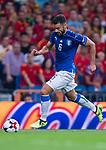 Antonio Candreva of Italy in action during their 2018 FIFA World Cup Russia Final Qualification Round 1 Group G match between Spain and Italy on 02 September 2017, at Santiago Bernabeu Stadium, in Madrid, Spain. Photo by Diego Gonzalez / Power Sport Images