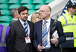 St Johnstone v Dundee United....17.05.14   William Hill Scottish Cup Final<br /> Paul Smith and Darryl Broadfoot<br /> Picture by Graeme Hart.<br /> Copyright Perthshire Picture Agency<br /> Tel: 01738 623350  Mobile: 07990 594431