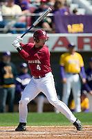 South Carolina third baseman James Darnell (4) at bat versus LSU at Sarge Frye Stadium in Columbia, SC, Thursday, March 18, 2007.