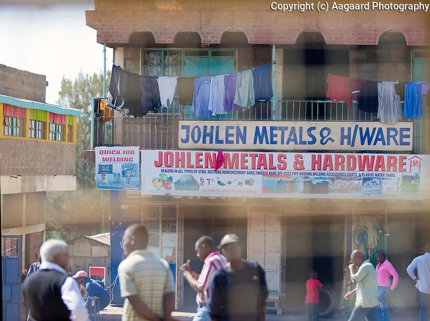 Street scene, Kiserian, Kenya