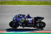 25th Septmeber 2020, Circuit de Barcelona, Catalunya, Spain; MotoGp of Catalunya, Free practise sessions;  12 Maverick Vinales ESP