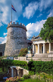 Kroatien, Kvarner Bucht, Rijeka: Kastell von Trsat | Croatia, Kvarner Gulf, Rijeka: Trsat Castle