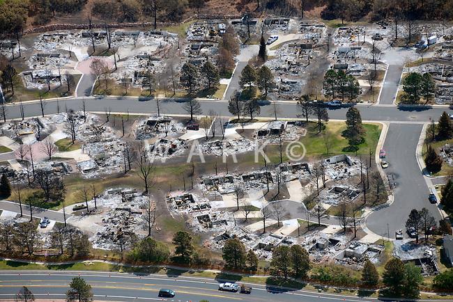 Waldo Canyon wildfire burned houses