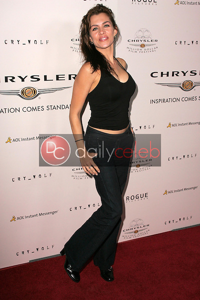 Alicia Arden<br />at Chrysler Million Dollar Film Festival's VIP screening of Cry_Wolf. The Arclight Theaters, Hollywood, CA. 09-15-05<br />Dave Edwards/DailyCeleb.Com 818-249-4998