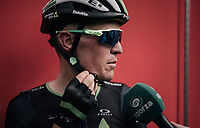 Serge Pauwels (BEL/Dimension Data) interviewed after having animated this very active, hilly stage<br /> <br /> 104th Tour de France 2017<br /> Stage 8 - Dole › Station des Rousses (187km)