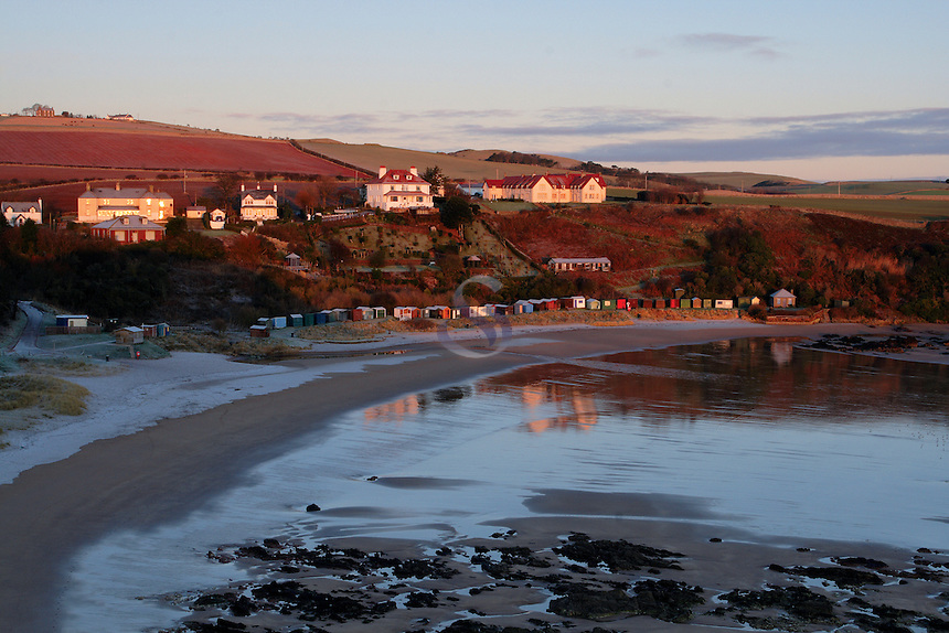 Coldingham Sands at dawn on the Berwickshire Coastal Path, Scottish Borders<br /> <br /> Copyright www.scottishhorizons.co.uk/Keith Fergus 2011 All Rights Reserved