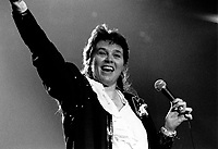 September 8,1989 File Photo- Edith Butler in concert