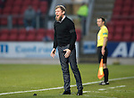 St Johnstone v Inverness Caley Thistle…03.12.16   McDiarmid Park..     SPFL<br />Richie Foran shiuts at his players<br />Picture by Graeme Hart.<br />Copyright Perthshire Picture Agency<br />Tel: 01738 623350  Mobile: 07990 594431