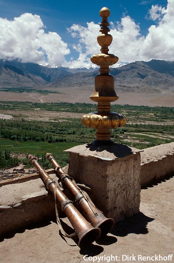 im Kloster Tikse, Ladakh (Jammu+Kashmir), Indien
