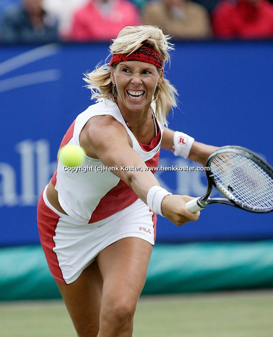 22-6-06,Netherlands, Rosmalen,Tennis, Ordina Open, quarter final, Brenda Schultz