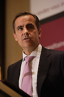 """Montreal (QC) CANADA, Sept 25 2008 -<br /> <br /> Mark Carney<br /> , Governor of th Bank of Canada , since Feb 1, 2008, speak at The Canadian Club of Montreal about """" Reflections on Recent Economic Developments"""""""