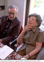 Maria Corti, filologa, scrittrice, critica letteraria, semiologa, fondo manoscritti italiani