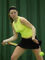 10-3-06, Netherlands, tennis, Rotterdam, National indoor junior tennis championchips, Kiki Bertens