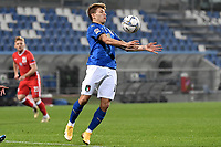 Nicolo Barella of Italy in action during the Uefa Nation League Group Stage A1 football match between Italy and Poland at Citta del Tricolore Stadium in Reggio Emilia (Italy), November, 15, 2020. Photo Andrea Staccioli / Insidefoto