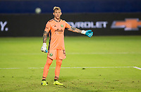 CARSON, CA - OCTOBER 07: Steve Clark #12 GK of the Portland Timbers during a game between Portland Timbers and Los Angeles Galaxy at Dignity Heath Sports Park on October 07, 2020 in Carson, California.