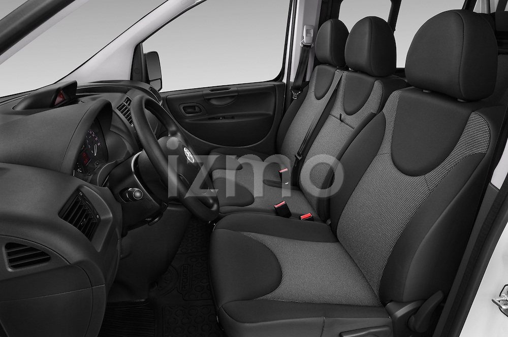 Front seat view of a 2013 Toyota PROACE COMFORT 5 Door Combi Front Seat car photos