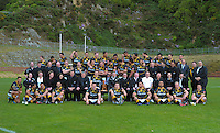 121025 Rugby - Wellington Lions Team Photo