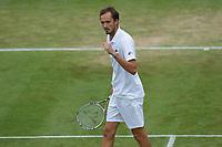 5th July 2021, Wimbledon, SW London, England; 2021 Wimbledon Championships, day 7; Daniil Medvedev , Russia