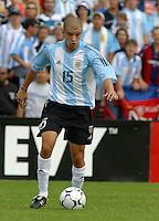 AndrŽs D'Alesandro, Argentina vs. USA, Miami, Fla.
