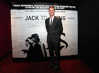 """Pictured: Footballer Alan Tate. Friday 12 September 2014<br /> Re: Premiere of """"Jack To A King"""" a film about the history of Swansea City Football Club, at The Empire Cinema in Leicester Square, London, UK."""