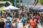 People explore vendors during the Epic Rides' Inaugural Carson City Off-Road event on Saturday, June 18, 2016 in Carson City, Nev.<br /> Photo by Kevin Clifford/Nevada Photo Source