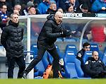 Mark Warburton urges his Rangers team to attack