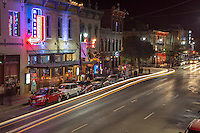 6th Street entertainment and live music district is the The prime weekend party spot for F1 race enthusiasts