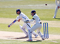 Yorkshire's Adam Lyth bats during Kent CCC vs Yorkshire CCC, LV Insurance County Championship Group 3 Cricket at The Spitfire Ground on 17th April 2021