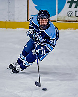 1 December 2018: University of Maine Black Bear Forward Celine Tedenby, a Freshman from Örnsköldsvik, Sweden, in first period action against the University of Vermont Catamounts at Gutterson Fieldhouse in Burlington, Vermont. The Lady Cats defeated the Lady Bears 3-2 in the second game of their 2-game Hockey East series. Mandatory Credit: Ed Wolfstein Photo *** RAW (NEF) Image File Available ***