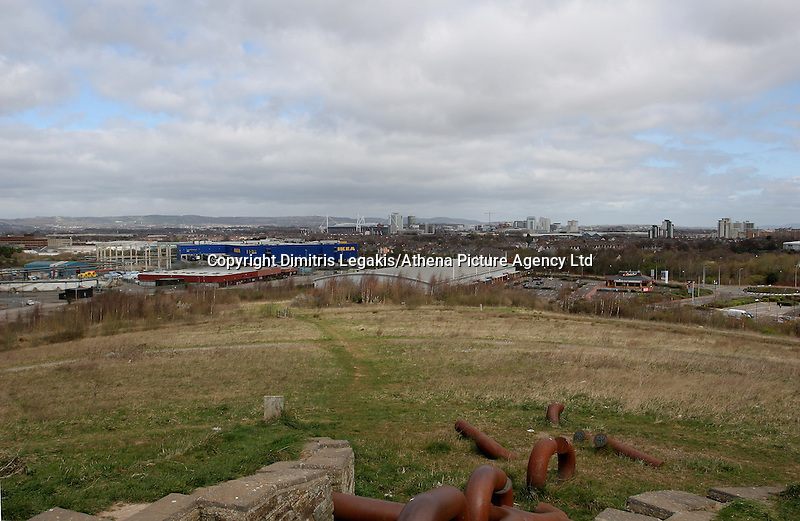 """Pictured: General view of Cardiff as seen from a nearby hill known as Asda Hill<br /> Re: Three men accused of helping a Cardiff teenager travel to Syria to fight with Islamic extremists are facing jail.<br /> Kristen Brekke, 20, from Cardiff, Forhad Rahman, from Cirencester, and Adeel Ulhaq, from Nottinghamshire, have been found guilty of helping in the preparation of an act of terrorism.<br /> The Old Bailey heard they helped Aseel Muthana, 19, join so-called Islamic State terrorists in February 2014.<br /> The court heard the defendants shared the same """"highly-radical ideology"""".<br /> They will be sentenced later on Wednesday."""