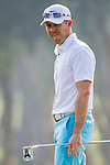 Players in action during the Hong Kong Open Golf 2014 on 20 October 2014, in Hong Kong, China. Photo by Chung Yan Man / Power Sport Images