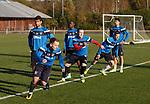 271017 Rangers training