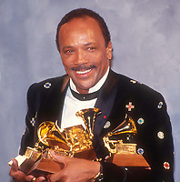 Quincy Jones 1990 Photo By John Barrett/PHOTOlink