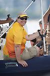 Paul Tingley, Scott Lutes and Logan Campbell, Rio 2016 - Para Sailing // Voile adaptée.<br /> Paul Tingley, Scott Lutes and Logan Campbell compete in the 3-Person Keelboat (Sonar) // Paul Tingley, Scott Lutes et Logan Campbell participent au quillard pour 3 personnes (sonar). 13/09/2016.