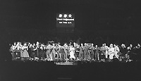 BNPS.co.uk (01202) 558833. <br /> Pic: OmegaAuctions/BNPS<br /> <br /> Previously unseen photos of the Beatles performing at the Royal Albert Hall have come to light 58 years on.<br /> <br /> The Fab Four took to the stage alongside a variety of acts including the Springfields and Del Shannon at the 'Swinging Sound' concert in April 1963.<br /> <br /> They were enjoying their newfound fame following the release of their first album 'Please Please Me' which stormed to the top of the UK charts.