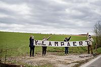 Yves Lampaert fans<br /> <br /> 83rd Gent-Wevelgem - in Flanders Fields (ME - 1.UWT)<br /> 1 day race from Ieper to Wevelgem (BEL): 254km<br /> <br /> ©kramon
