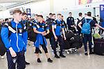 Team arrivals for HKFC Citi Soccer Sevens 2018 at Hong Kong International Airport on 16 May 2018, in Hong Kong, Hong Kong. Photo by Yuk Man Wong / Power Sport Images