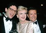Harvey Fierstein , Angela Lansbury , Jerry Herman attend the Tony Awards, New York, NY. June 1983