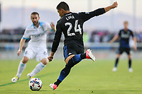 San Jose, CA - Wednesday June 28, 2017: Nick Lima during a U.S. Open Cup Round of 16 match between the San Jose Earthquakes and the Seattle Sounders FC at Avaya Stadium.