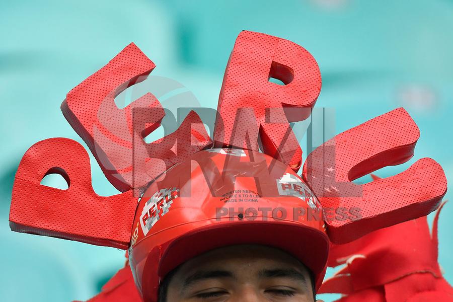 Salvador (Bahia), 29/06/2019 - Copa América - Uruguai-Peru -Torcida antes da partida entre Uruguai e Peru em jogo válido pelas quartas de final da Copa América, na Arena Fonte Nova em Salvador, na tarde deste sábado, 29. (Foto: Ricardo Botelho/Brazil Photo Press)