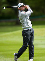 19.05.2015. Wentworth, England. BMW PGA Golf Championship. Practice Day.  Rafa Cabrera-Bello during the practice round of the 2015 BMW PGA Championship from The West Course Wentworth Golf Club