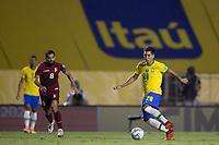 13th November 2020; Morumbi Stadium, Sao Paulo, Sao Paulo, Brazil; World Cup 2022 qualifiers; Brazil versus Venezuela;  Roberto Firmino of Brazil