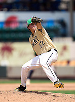 Plant Panthers pitcher Reece Soper (22) during the 42nd Annual FACA All-Star Baseball Classic on June 6, 2021 at Joker Marchant Stadium in Lakeland, Florida.  (Mike Janes/Four Seam Images)