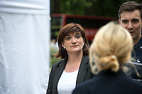 Nicky Morgan (British Conservative Party politician, Secretary of State for Education and Minister for Women and Equalities).<br /> <br /> London, 24/06/2016. The United Kingdom decided to leave the European Union. The British people voted (Turnout 72.2%): 51,9% to leave the EU (17,410,742 Votes) versus 48,1% to remain in the EU (16,141,241 Votes).<br /> <br /> For the full caption please find the 2-page PDF attached at the beginning of this story.<br /> <br /> For more information abou the result please clich here: http://www.bbc.co.uk/news/politics/eu_referendum/results
