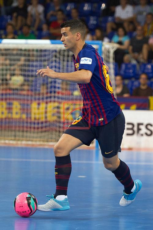 League LNFS 2018/2019.<br /> PlayOff Final. 1er. partido.<br /> FC Barcelona Lassa vs El Pozo Murcia: 7-2.<br /> Marcenio Ribeiro.