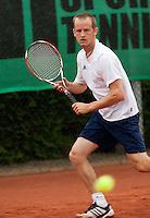 12-8-09, Den Bosch,Nationale Tennis Kampioenschappen, 1e ronde,  Sander Koning